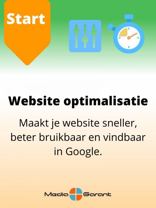 websiteoptimalisatie