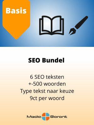 SEO bundel basis MediaGarant