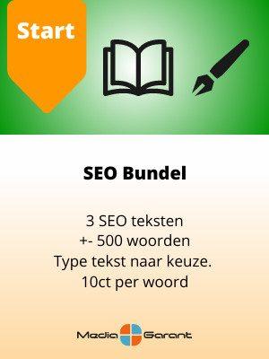 SEO bundel start MediaGarant